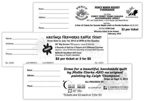 search results for avery printable raffle tickets