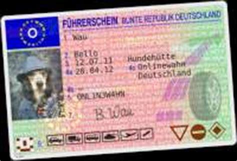 Führerschein Vorlagen Muster Generatoren Ausweis F 252 Hrerschein Und Puzzles