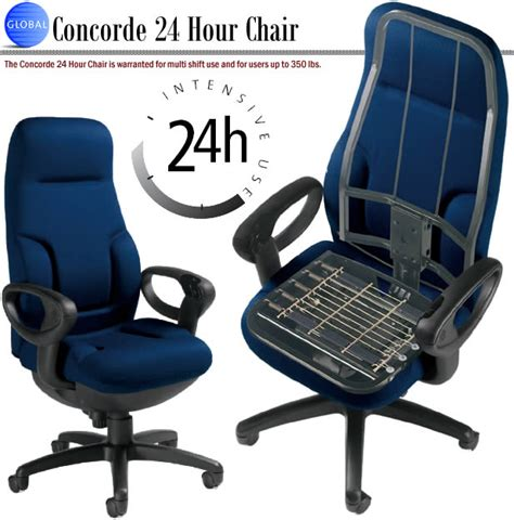 24h stuhl global concorde 24 hour chair