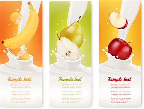 design milk advertising fruit milk splash vector free vector download 3 331 free