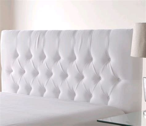 White Padded Headboard by White Padded Headboard