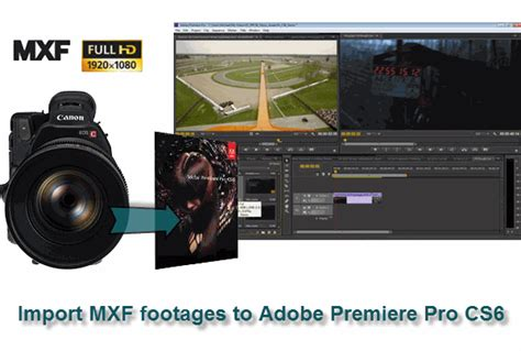 Adobe Premiere Cs6 Mxf Import | import mxf files from sony canon camcorders to adobe