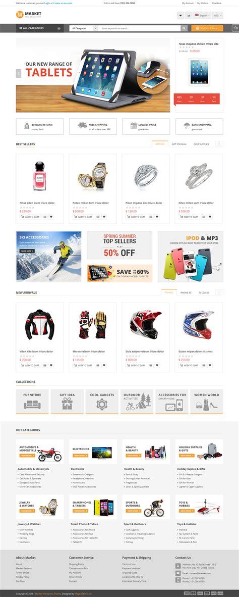 themes wordpress shopping cart market shopping woocommerce wordpress theme by magentech