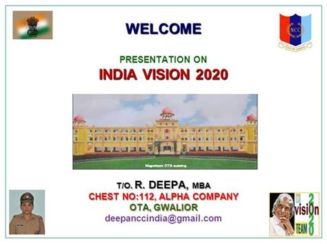 India Vision 2020 Authorstream 2020 Vision Ppt Template Free