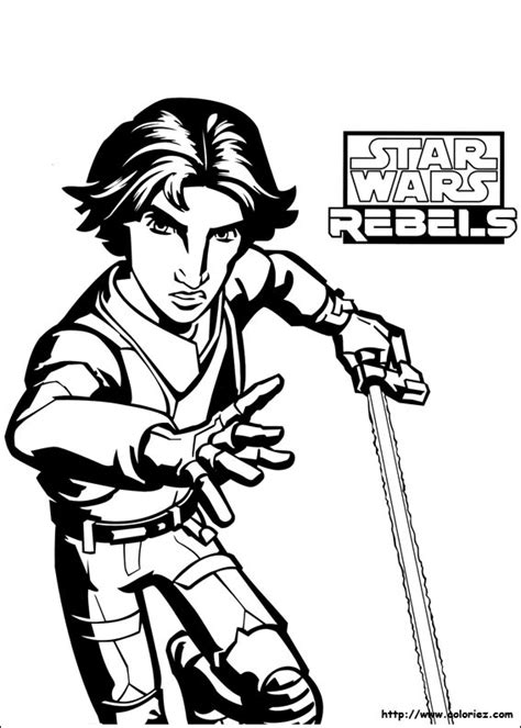 star wars ezra coloring page index of images coloriage star wars rebels