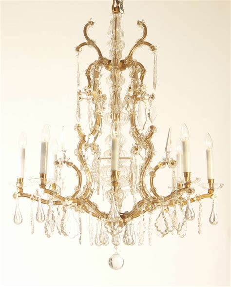 2 light baroque bronze hanging pendant l chandelier lobmeyr circa 1920 at 1stdibs