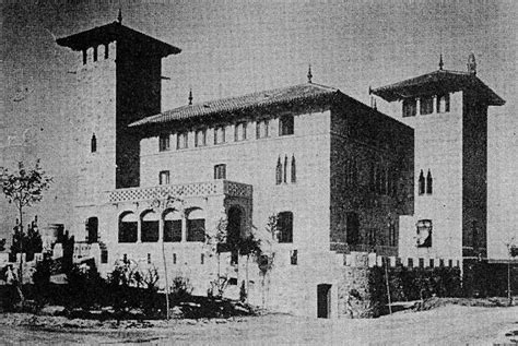 casa de extremadura en madrid modernisme madrid puig i cadafalch