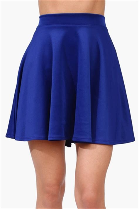 rad skater skirt royal blue