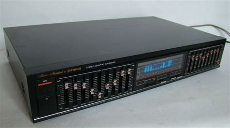 fisher eq  stereo  fi graphic equalizer