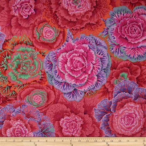 kaffe fassett upholstery fabric kaffe fassett collective brassica red discount designer