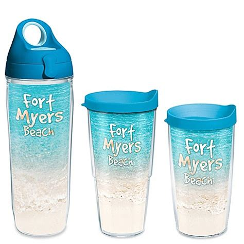 bed bath and beyond ft myers tervis 174 tropical beach fort myers wrap drinkware with lid
