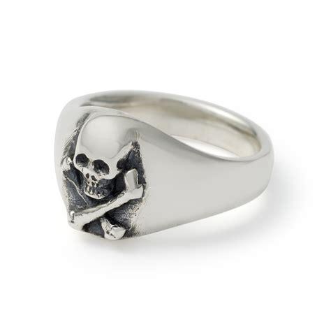 small skull small skull crossbones signet ring the great frog