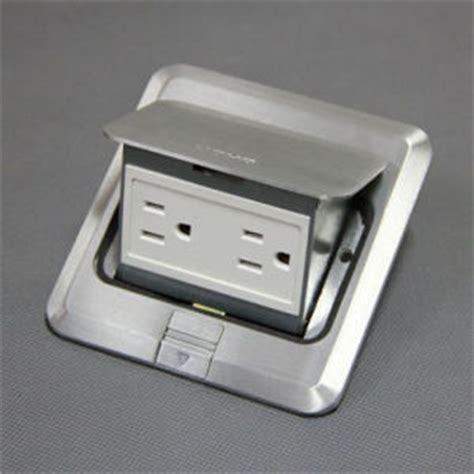 porcelain l holder with outlet china chromium plated brass pop up floor outlet box u l