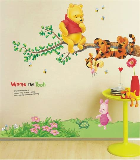 Winnie The Pooh Wall Decals For Nursery Winnie The Pooh Tree Branch Large Nursery Wall Sticker Decoration Wall Well And Truly