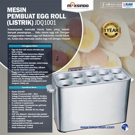 Mesin Egg Roll Listrik Jual Mesin Pembuat Egg Roll Listrik Di Surabaya Toko