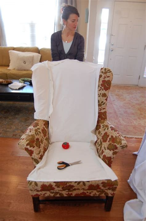 making chair slipcovers how to make slipcovers