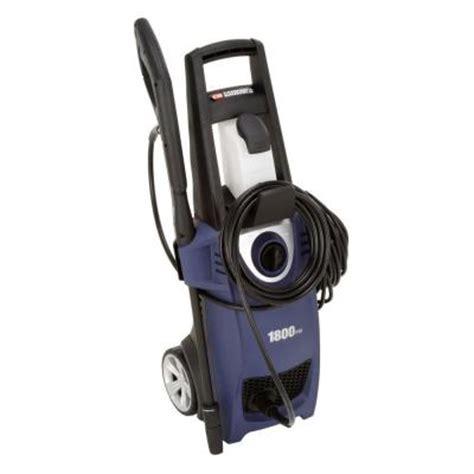 cbell hausfeld 1800 psi 1 5 gpm 1 l electric pressure