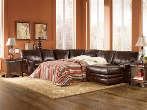 Leather Sectional Sleeper Sofa by Leather Sleeper Sofas Design Of Your House Its