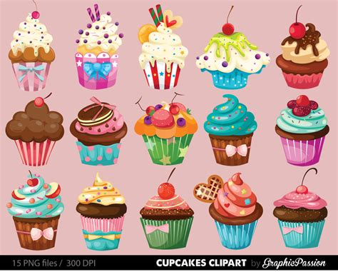 free printable clip printable cupcake clipart clipground