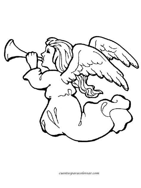 dibujos navideños para colorear infantiles dibujos para colorear 225 ngeles navide 241 os