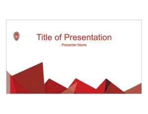 Powerpoint Brand And Visual Identity Uw Madison Uw Powerpoint Template