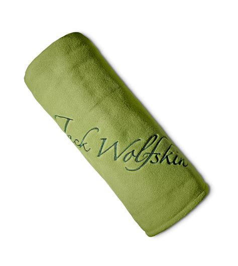 wolfskin decke wolfskin decke logo blanket one size earl green