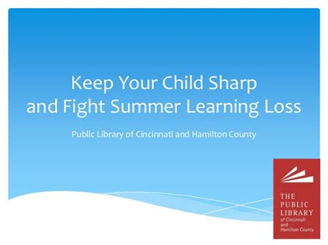 7 Loss Tips For Summer by Fight Summer Learning Loss With These Tips