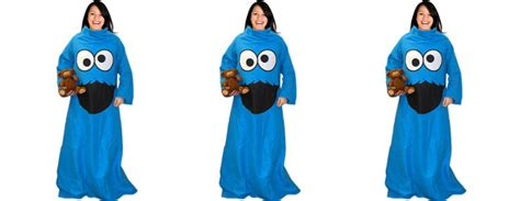 Garage Design Software cookie monster throw blanket with sleeves the green head