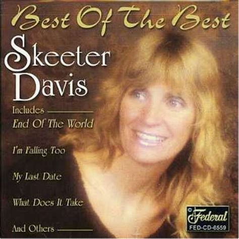 best davis album skeeter davis cd covers