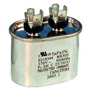 run capacitor supco supco supco cr5x370 oval run capacitor
