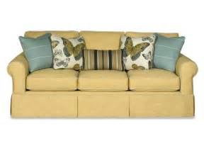 paula deen furniture sofa living room three cushion sofa p992050bd osmond designs