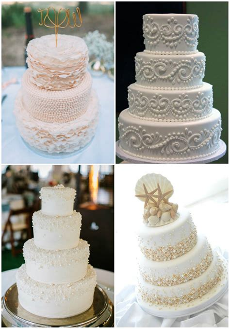 Wedding Cake Ideas 2016 by 25 Fabulous Wedding Cake Ideas With Pearls
