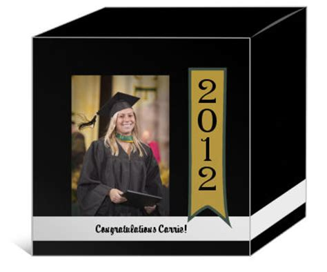 Graduation Gift Card Box - graduation gift boxes personalized graduation photo box graduation card box