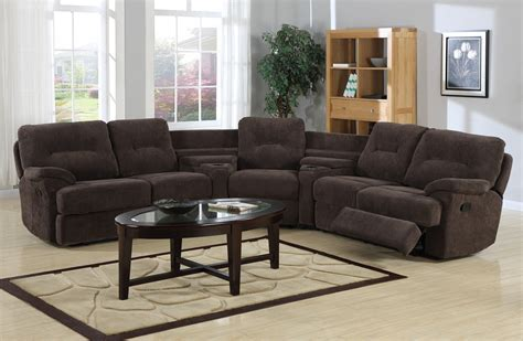 Curved Sectional Recliner Sofas Curved Sectional Sofa With Recliner Www Energywarden Net