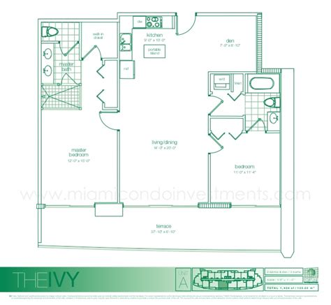 the ivy floor plans the ivy floor plans for condos in miami
