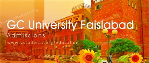 Mba Gcuf by Gc Faisalabad Admission 2018 Last Date And Fee