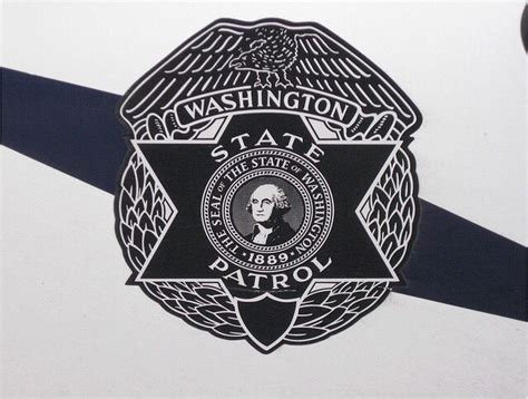 door logo washington state patrol swat police police