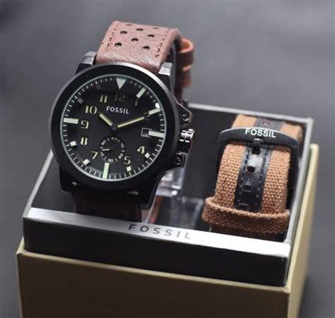 Jam Fossil Jam Fosil jam tangan fossil fs0609 delta jam tangan