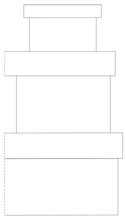 Parcel Template by 3 Parcel Card Template Moldes De Tarjetas