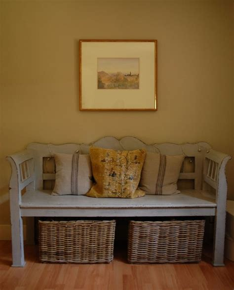 Bench With Baskets Underneath 25 Best Ideas About Entry Bench On Farmhouse
