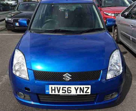 Suzuki Vvts Glx Suzuki 2006 Vvts Glx Blue Car For Sale