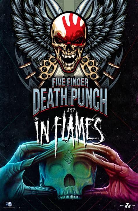 five finger death punch uk tour five finger death punch announces european tour with in