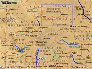 map of southwest colorado colorado fishing network where to fish in southwest colorado