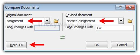 Compare Two Word Documents And Highlight Differences