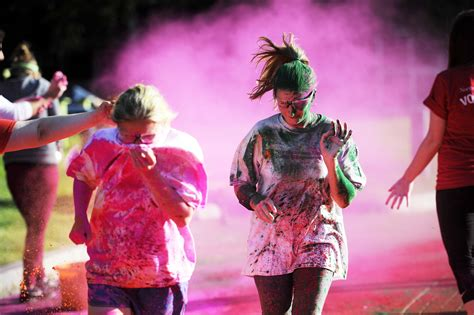 northeastern 5k color run news northeastern