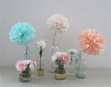 fiori centrotavola matrimonio 9 centrotavola low cost e fai da te coi pom pom