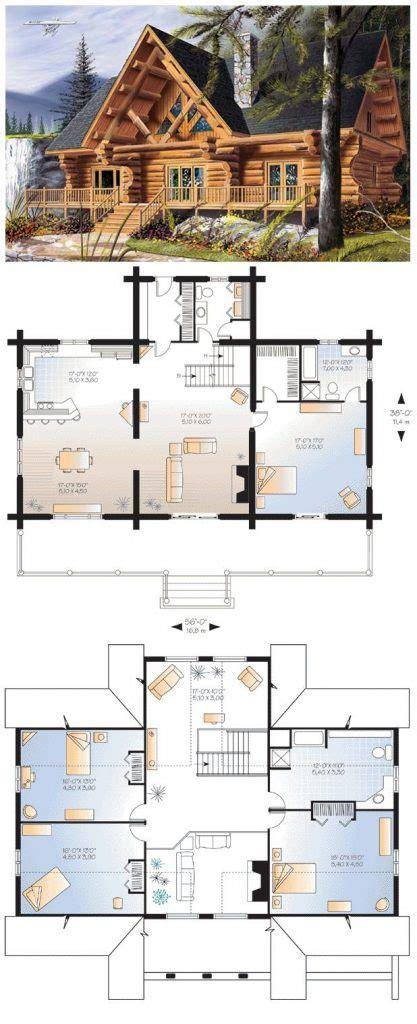 best cabin floor plans 4 bedroom log home floor plans best 25 log cabin