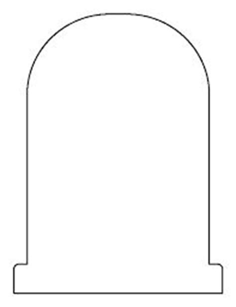 Printable Gravestone Template From Printabletreats Com Halloween Printables Pinterest Template Free Gravestone Template