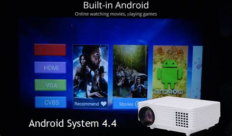 Proyektor Hp Android Proyektor Mini Wifi Android Presentasi Wireless Dari