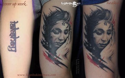 tattoo fixers lizard lizard s skin tattoos cover up tattoo by artist niloy das